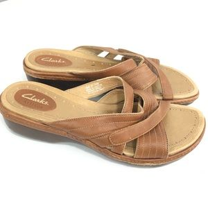 🔥2/$30 Clarks Artisan Size 9N 76606 Sandals Shoes